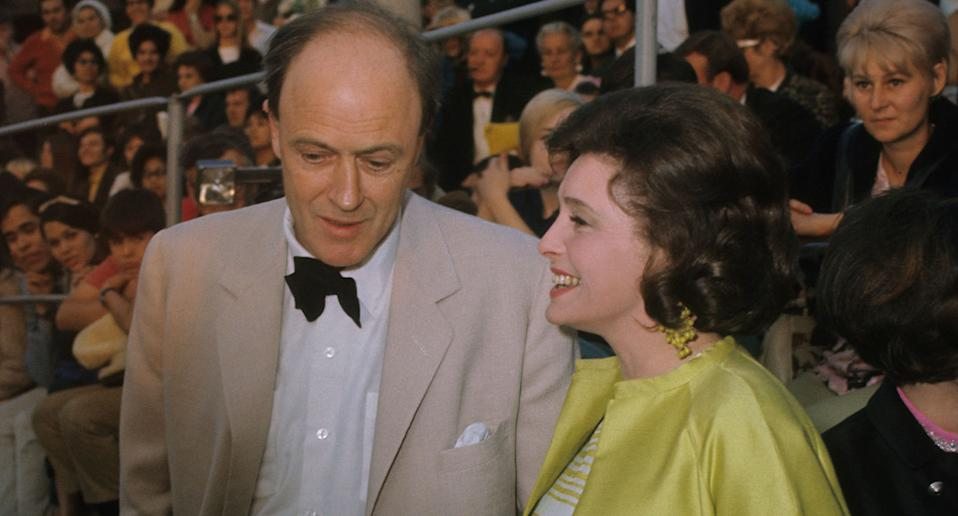 Roald Dahl and Patricia Neal at the 41st Academy Awards in 1969. (Photo by Walt Disney Television via Getty Images Photo Archives/Walt Disney Television via Getty Images)