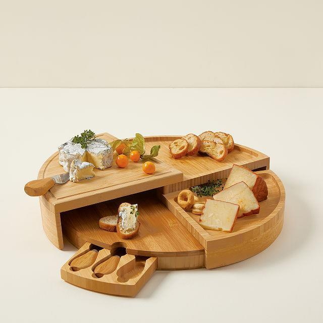 compact swivel cheese board, gifts for her