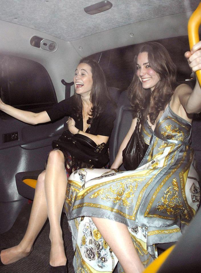 <p>Going out to Mahki Club in London in 2007. </p>