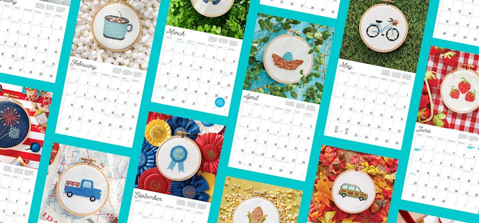 """<p><strong>We set out to pack our 2021 wall calendar with everything our </strong><em>Country Living</em> readers enjoy. The end result is a wall calendar that is so much more than a place to track upcoming events and appointments. It includes: </p><p><strong>Country-Specific Holidays </strong>In addition to standard observances like Christmas and Easter and Labor Day, we also made sure to highlight special days with country significance. (Psst: January is almost here, and so is Dolly Parton's birthday!)</p><p><strong>Seasonal Recipe Ideas </strong>Looking for fun country-inspired Fourth of July side dishes, spring meals, Easter dinners, and holiday dips? Need ideas for creative cupcakes or hot dog fixin's? You'll find those answers in our cooking tips, included with every month.</p><p><strong>Unique Crafting Ideas </strong>Get easy DIY inspiration for wreaths, centerpieces, and much more.</p><p><strong>Collecting Advice You Can Trust </strong>Because every season is antiquing season, we've included monthly ideas and advice to fuel your flea market passions. You'll find new ideas for collectibles (4-H memorabilia!) and tips for collecting the classics. </p><p><strong>Plus,</strong> no country calendar would be complete without moon phases—so we've got those too. </p><p>Here's a peek at some of our favorites from the calendar! </p><p><a class=""""link rapid-noclick-resp"""" href=""""https://shop.countryliving.com/2021-country-living-calendar.html"""" rel=""""nofollow noopener"""" target=""""_blank"""" data-ylk=""""slk:Buy the Calendar"""">Buy the Calendar</a></p>"""