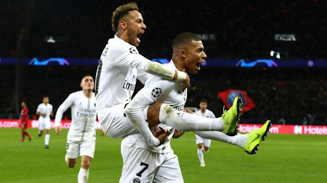 Florentino Perez joked that Zinedine Zidane could play a role in luring Kylian Mbappe to Real Madrid.
