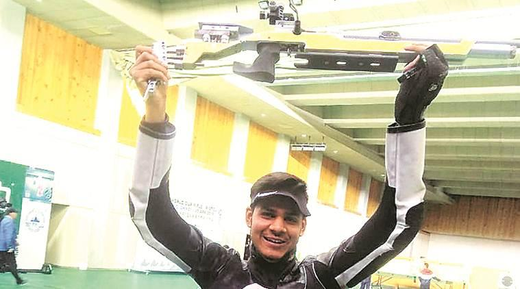 Divyansh Singh Panwar, Divyansh Singh Panwar india shooter, ISSF world cup china 2019, indian express sports news