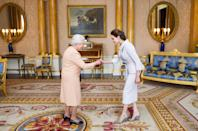 <p>Fashion thought exercise: What would you wear to meet the Queen of England, on what would undoubtedly be the fanciest day of your life? Here, 60 famous people's answers to that particular question, from Old Hollywood icons like Kirk Douglas and Elizabeth Taylor to modern-day fashion mavens including Lady Gaga and Kiera Knightly. </p>