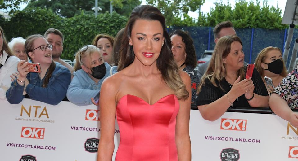 LONDON, ENGLAND - SEPTEMBER 09: Michelle Heaton attends the National Television Awards 2021 at The O2 Arena on September 9, 2021 in London, England. (Photo by David M. Benett/Dave Benett/Getty Images)