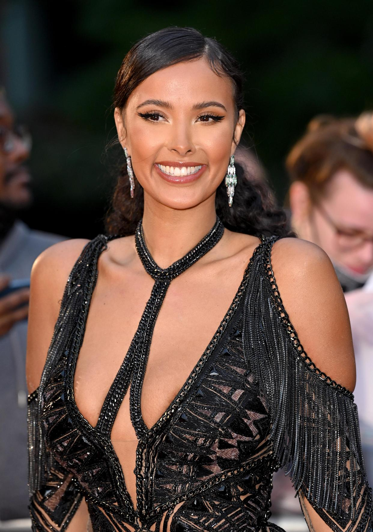 LONDON, ENGLAND - SEPTEMBER 01: Maya Jama attends the GQ Men Of The Year Awards 2021 at Tate Modern on September 01, 2021 in London, England. (Photo by Karwai Tang/WireImage)