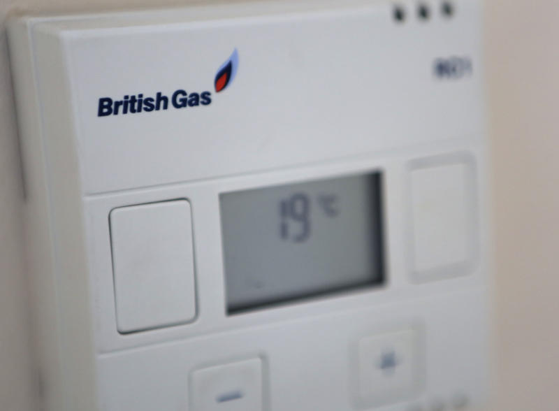 A British Gas thermostat.
