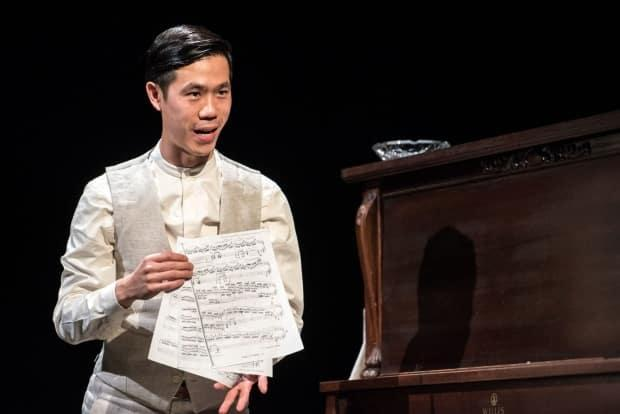 Jeff Ho, a graduate of Montreal's National Theatre School, wrote the play Trace in order to unpack his family history and as an ode to the strong women who came before him. (Dahlia Katz - image credit)