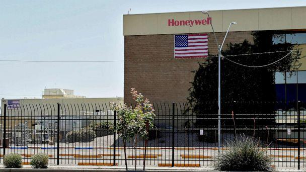 PHOTO: In this April 4, 2020, file photo, the Honeywell factory is shown in Phoenix. (Matt York/AP, FILE)