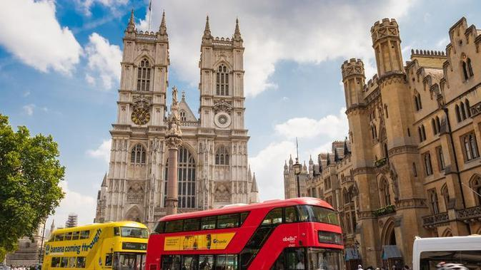 Westminister Abbey, London, Inggris. (Sumber: pixabay)