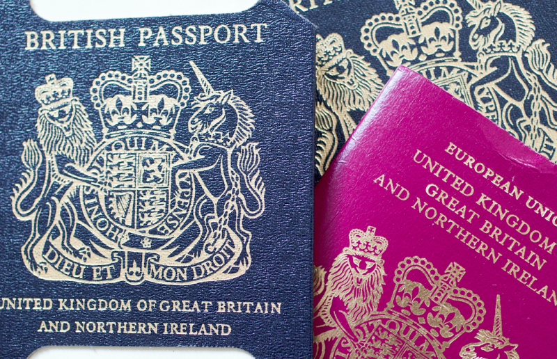 British firm launches appeal to secure Government contract — Blue passport