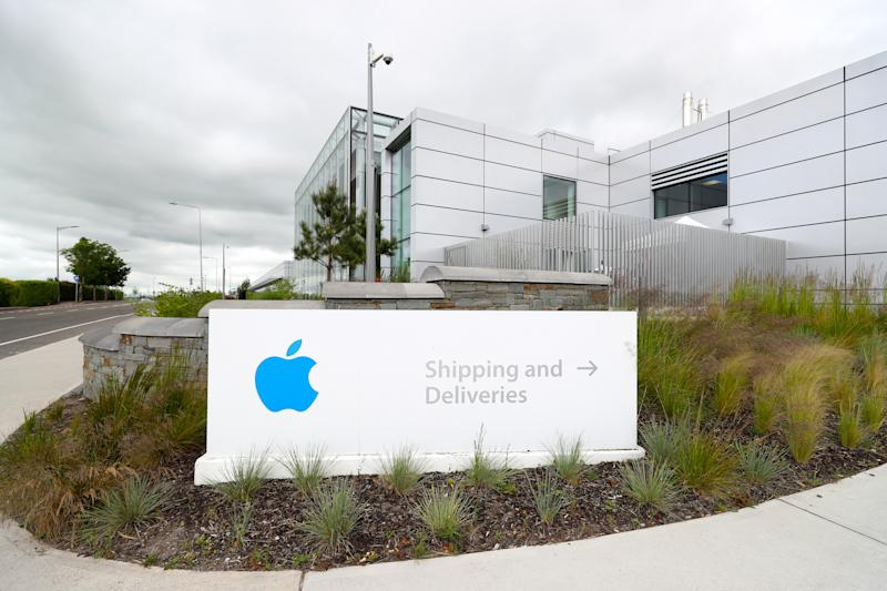 A general view of Apple European headquarters at Hollyhill industrial estate in Co Cork. The Facility employs 6000 people manufacturing and distributing iMac computers. (Photo by Niall Carson/PA Images via Getty Images)