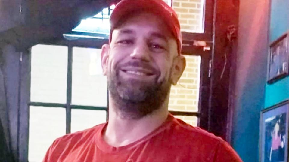 Pictured here, MMA veteran Justin Thornton has died several weeks after suffering a brutal KO in a fight.