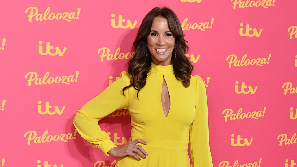 While Andrea McLean is a mainstay of daytime TV, she never set out to work on TV! (Image: Getty Images)