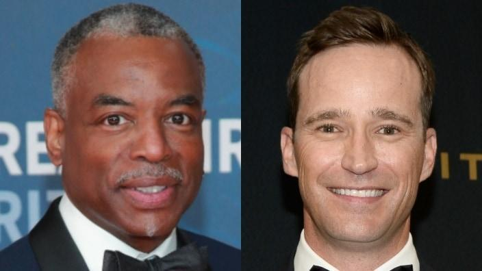 """Fans of the game show """"Jeopardy"""" are crying foul after it was revealed that LeVar Burton (left) would not be the game show's new permanent host, and Mike Richards (right), one of its executive producers, would be. (Photos by Rich Fury/Getty Images and Matt Winkelmeyer/Getty Images)"""