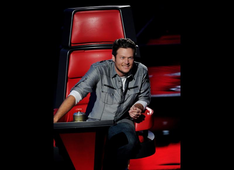 Singer Blake Shelton appears at a press junket for NBC's 'The Voice' at Sony Studios on October 28, 2011 in Culver City, California. (Getty)