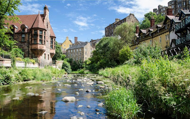 The Water of Leith walk leads to pretty Dean Village - John Lawson, Belhaven