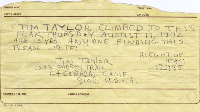 Hike Becomes Quest to Find Writer of Decades-Old Letter