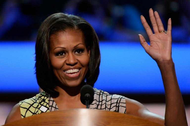 Michelle Obama makes rousing call to dump Trump at Democratic convention