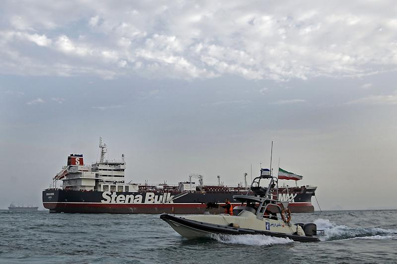"""(Bloomberg) -- Oil rose the most in more than a week as Iran's seizure of a British oil tanker fueled concerns about escalating tensions in the Middle East.Futures closed 1.1% higher in New York on Monday after easing some gains during the session. While the U.K. demanded the immediate release of the Stena Impero, taken by Iran's Revolutionary Guard Corps in the Strait of Hormuz on Friday, British Defense Minister Tobias Ellwood said he wanted to de-escalate the situation.""""It seems to be a situation where neither side is trying to force a military solution to these tensions,"""" said Bob Yawger, director of the futures division at Mizuho Securities USA. """"So in situations like this, news of the conflict leads the market to rally strongly and then pull back.""""The U.S. benchmark crude rose Friday after the tanker seizure highlighted the risk of flows through the world's most critical crude choke-point. Nonetheless, prices fell 7.6% last week, the sharpest pullback since May, amid concerns that a slowing global economy will weigh on oil demand.West Texas Intermediate for August delivery, which expires Monday, added 59 cents to settle at $56.22 a barrel on the New York Mercantile Exchange, the largest gain since July 10. The more-active September WTI contract rose 46 cents to end the session at $56.22 a barrel.Brent for September settlement advanced 79 cents to settle at $63.26 a barrel on the ICE Futures Europe Exchange. The global benchmark crude traded at a premium of $7.04 for the same month, the widest since late June.On Monday, Prime Minister Theresa May led a meeting of the U.K.'s emergency committee to discuss the security of shipping in the Persian Gulf. While the U.K. government previously threatened Iran with """"serious consequences"""" over the tanker seizure and advised British ships to avoid the area, ministers on Sunday sought to dial down the rhetoric.Tensions have flared in the Strait of Hormuz in recent weeks as Iran lashes out against U.S. sanctions that are cr"""
