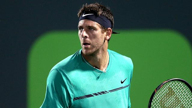 Fifth seed Juan Martin del Potro is travelling back to Argentina following the passing of his grandfather.