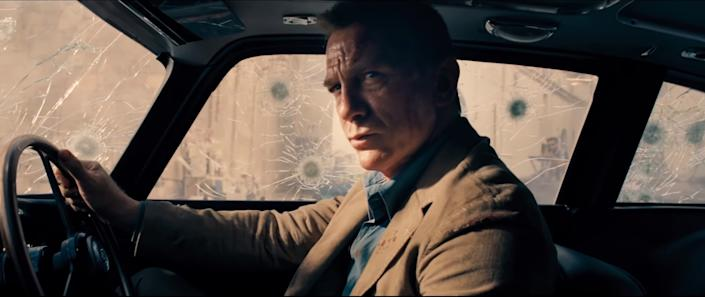 """Daniel Craig in <i>No Time to Die</i><span class=""""copyright"""">MGM</span>"""