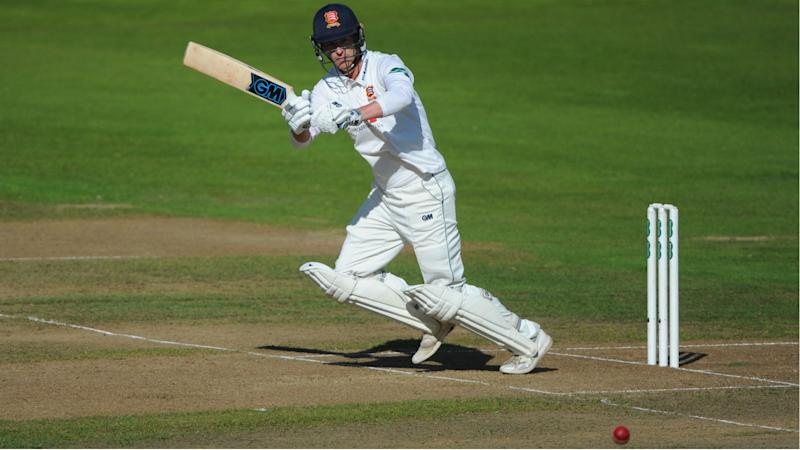 England Ashes hopeful Westley escapes with bruised thumb