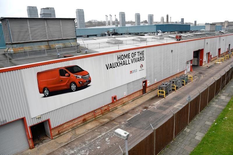 Vauxhall closing auto dealerships following drop in sales