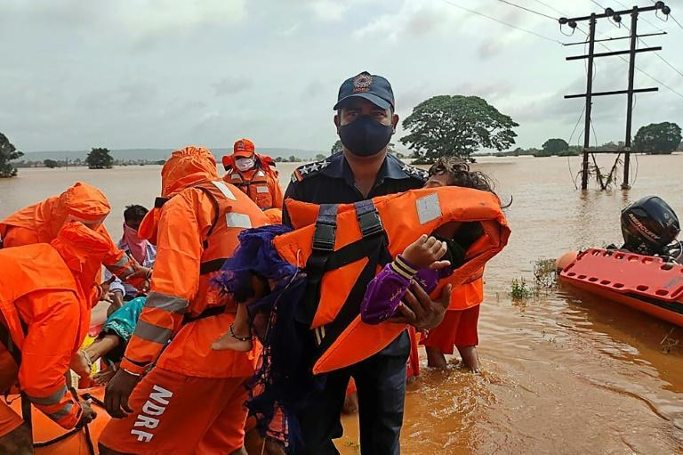 India's western coast has been inundated by torrential rainfall
