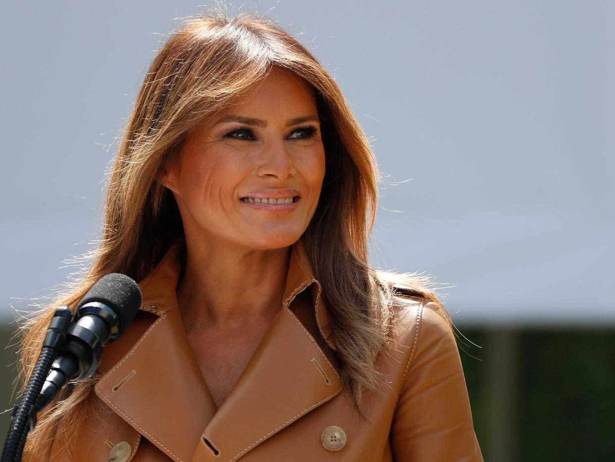 The firstlady will likely remain hospitalized for the rest of the week. (Photo: Kevin Lamarque/Reuters)