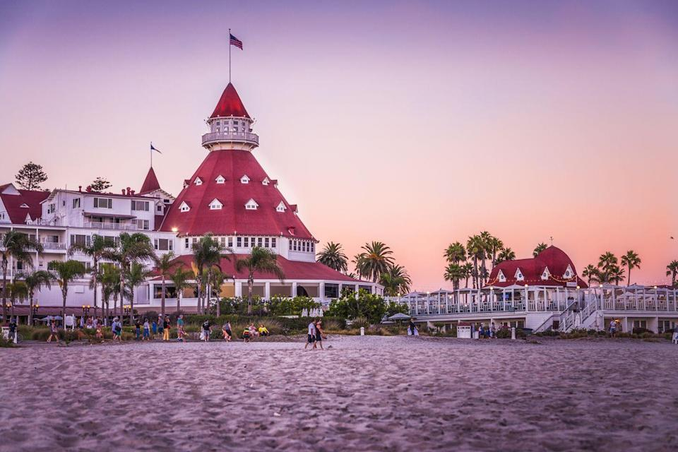 "<p>One of the few surviving examples of a wooden Victorian beach resort, the Hotel Del Coronado is also supposed to be the permanent vacation spot for the ghost of beauty Kate Morgan. In 1892, a lonely Kate checked in on Thanksgiving Day telling employees her gentleman companion would be joining her shortly. Five days later he was a no-show and Kate took her own life. Since then guests in her third floor guest room have experienced flickering lights, breezes with no source, doors that randomly open and close, and sudden changes in room temperature.</p><p><a class=""link rapid-noclick-resp"" href=""https://go.redirectingat.com?id=74968X1596630&url=https%3A%2F%2Fwww.tripadvisor.com%2FHotel_Review-g32250-d125137-Reviews-Hotel_del_Coronado-Coronado_California.html&sref=https%3A%2F%2Fwww.countryliving.com%2Flife%2Ftravel%2Fg2689%2Fmost-haunted-hotels-in-america%2F"" rel=""nofollow noopener"" target=""_blank"" data-ylk=""slk:PLAN YOUR TRIP"">PLAN YOUR TRIP </a></p>"