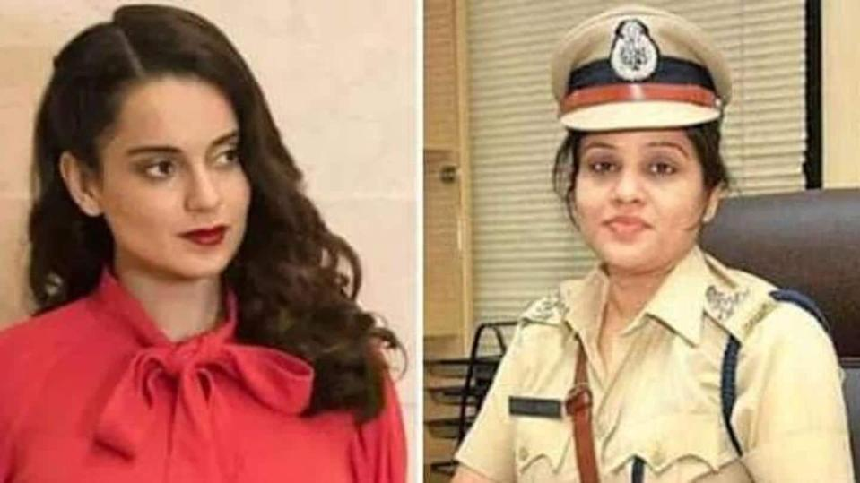 Kangana Ranaut slams IPS officer for her statement on firecrackers