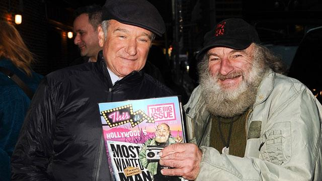 Robin Williams' Once Homeless Lookalike