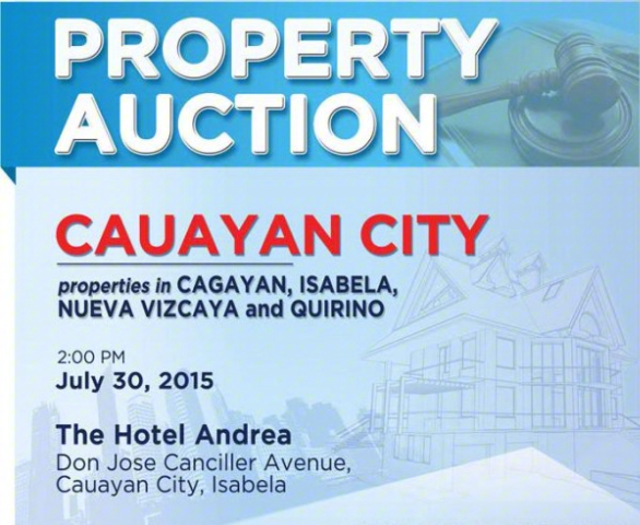 PNB to auction more than 70 foreclosures in Northern Luzon