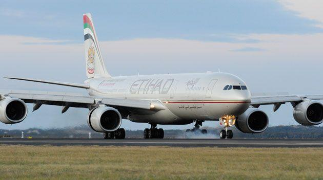 An alleged terror plot to bring down a plane may have involved an Etihad flight departing Sydney. Source: Getty Images
