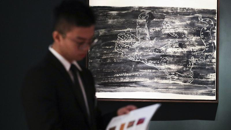 Auction house Sotheby's raises over US$400 million in sixth straight sale as phone, online bids offset drop in visitors amid protests
