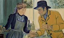 <p>This groundbreaking animation that explores the life and legacy of Vincent Van Gogh boasts of being the world's first hand-painted film. 125 painters hand-crafted every one of the 65,000 frames that make up the movie, which was first shot with real actors (including Douglas Booth and Chris O'Dowd), before being painstakingly recreated by hand. The results are stunning. </p>