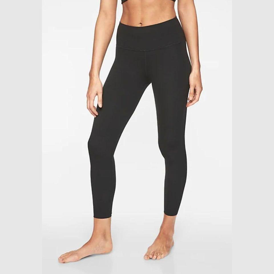 """<p><strong>Athleta</strong></p><p>athleta.gap.com</p><p><strong>$42.99</strong></p><p><a href=""""https://go.redirectingat.com?id=74968X1596630&url=https%3A%2F%2Fathleta.gap.com%2Fbrowse%2Fproduct.do%3Fpcid%3D1059481%26pid%3D293142&sref=https%3A%2F%2Fwww.goodhousekeeping.com%2Fclothing%2Fg35035078%2Fbest-workout-clothes-for-women%2F"""" rel=""""nofollow noopener"""" target=""""_blank"""" data-ylk=""""slk:Shop Now"""" class=""""link rapid-noclick-resp"""">Shop Now</a></p><p>Popular for its wide range of workout clothes designed specifically for women, Athleta's leggings, sports bras, and swimwear have aced our evaluations. In the top tested Elation tight, the Powervita fabric hugs your curves, ideal for yoga and barre. Reviewers rave that their leggings are <strong>durable and stay in place no matter the activity</strong>. We also love that the <a href=""""https://go.redirectingat.com?id=74968X1596630&url=https%3A%2F%2Fathleta.gap.com%2Fbrowse%2Fproduct.do%3Fpid%3D531221012&sref=https%3A%2F%2Fwww.goodhousekeeping.com%2Fclothing%2Fg35035078%2Fbest-workout-clothes-for-women%2F"""" rel=""""nofollow noopener"""" target=""""_blank"""" data-ylk=""""slk:sports bras"""" class=""""link rapid-noclick-resp"""">sports bras</a> offer excellent support for cup sizes A-DD. For trendy workout clothes that can be worn from the gym to brunch, Athleta continues to impress.</p>"""