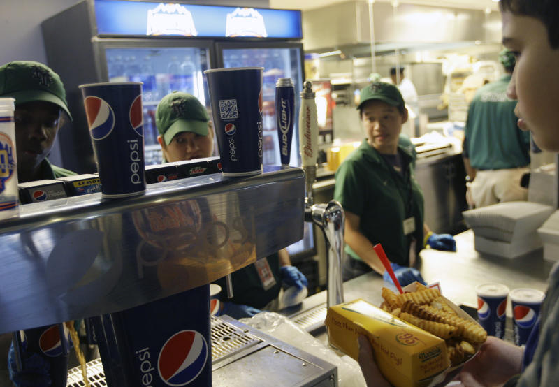 NYC bans big sugary drinks at eateries, theaters