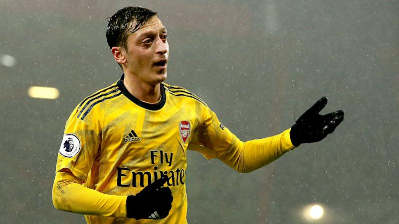 Mesut Ozil set to be left out of Arsenal's Europa League squad