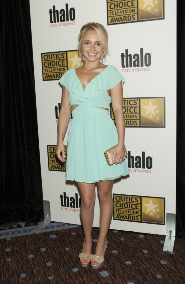 Hayden Panettiere attends the 2012 Critics' Choice Television Awards at The Beverly Hilton Hotel on June 18, 2012 in Beverly Hills, California.