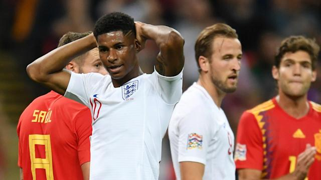 The former England international says the Manchester United forward has not shown himself to be deserving of the central striking role he craves