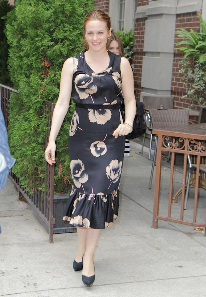 """New mom Alicia Silverstone, 34, also headed north to support her new flick, """"Butter,"""" a comedy about butter carving. Just four months after giving birth to her first son, Bear Blu, the """"Clueless"""" star seems to have recovered her pre-pregnancy bod! O'Neill/White/<a href=""""http://www.infdaily.com"""" target=""""new"""">INFDaily.com</a> - September 13, 2011"""