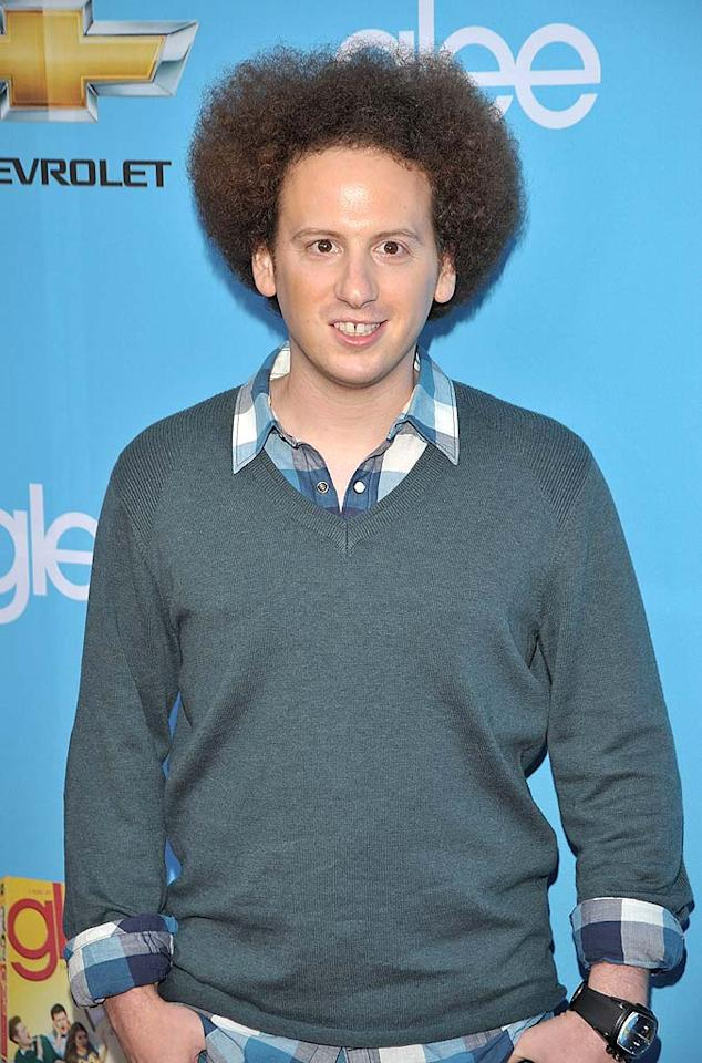 "Before hitting the red carpet, Josh Sussman tweeted, ""About to leave for the Glee Season two party. I'm excited!!!!"" Lester Cohen/<a href=""http://www.wireimage.com"" target=""new"">WireImage.com</a> - September 7, 2010"
