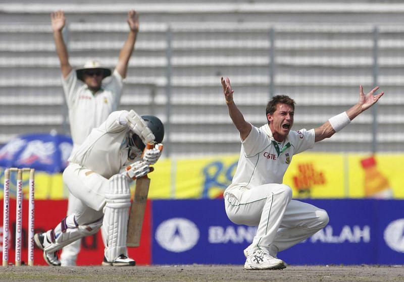 Steyn once again proved to be the match-winner in a low scoring thriller