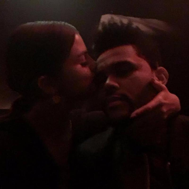 Selena Gomez Kisses The Weeknd in New Instagram Photo