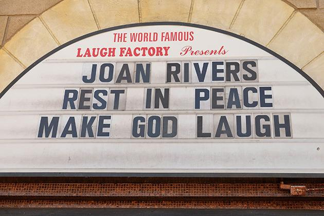 "<p>""Joan Rivers Rest In Peace Make God Laugh.""</p>"