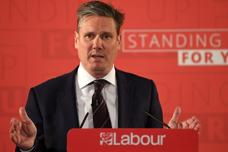 Shadow Brexit Secretary Sir Keir Starmer has laid out Labour's policy on Brexit: PA