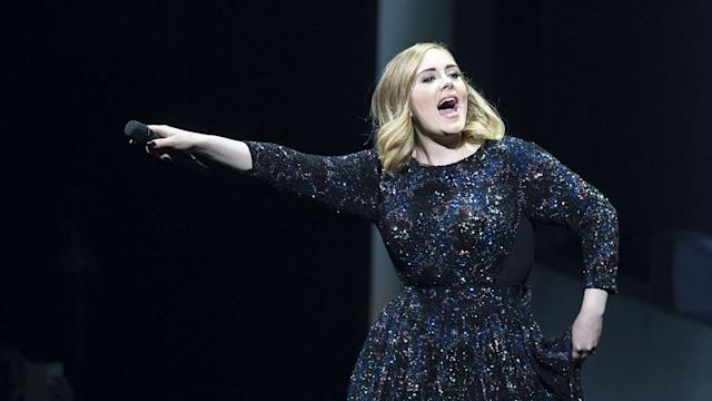 A Bat Crashed Adele's Concert and She Appropriately Freaked Out