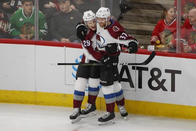 NHL: Colorado Avalanche at Chicago Blackhawks