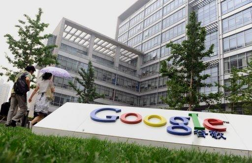 Google service disrupted in China